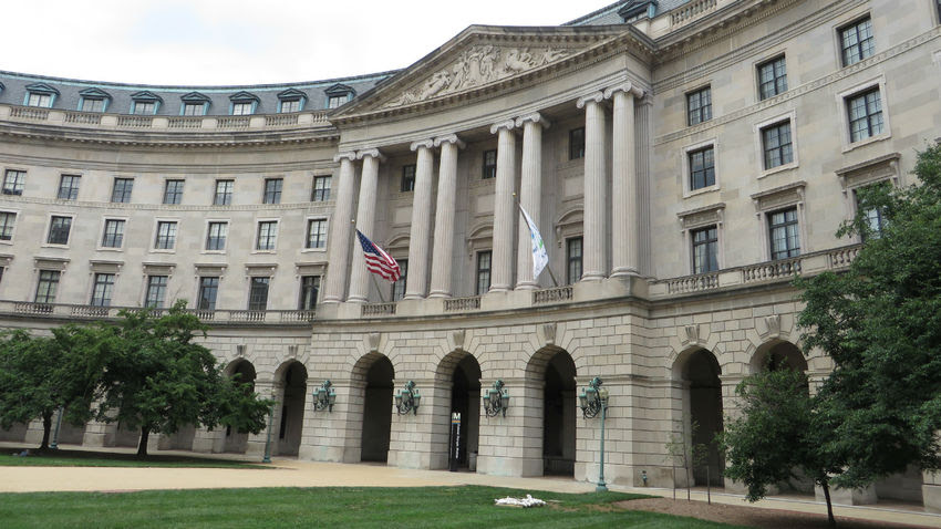 Washington headquarters of the Environmental Protection Agency.
