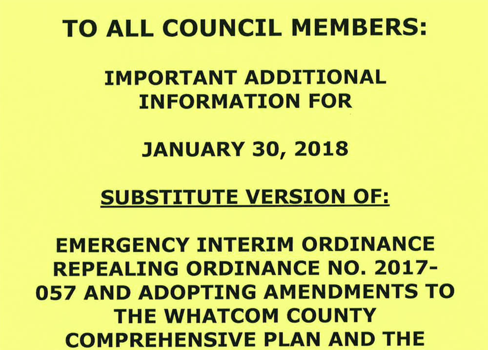 Yellow notice online now - click link at bottom of article