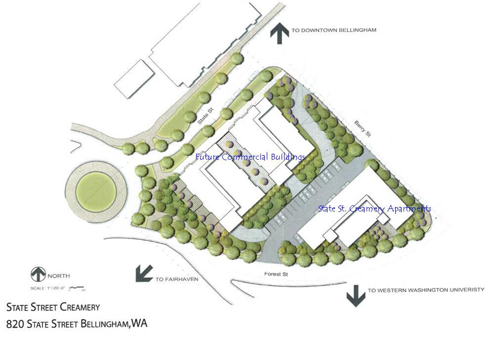 Parcel site plan