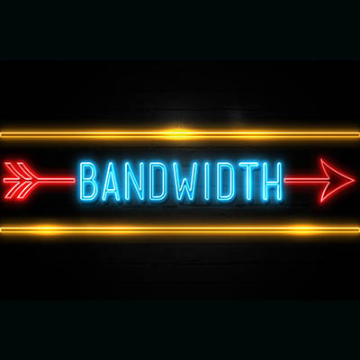 It's the bandwidth, stupid.